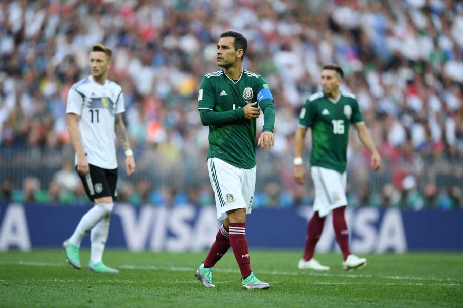 メキシコ代表でW杯5大会連続出場を果たしたマルケスは、代表引退を決断した【写真:Getty Images】