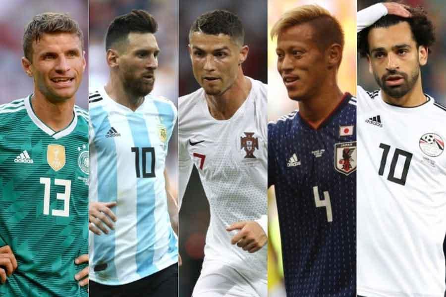 米メディア「TheSportster」は、ロシアW杯後に代表を引退する可能性が高い20選手をピックアップした【写真:Getty Images】