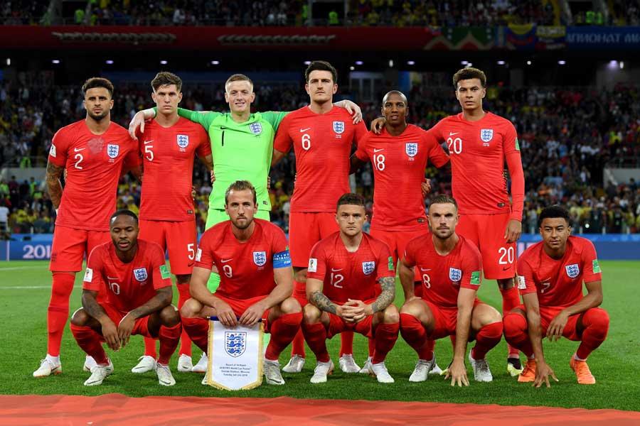 3大会ぶりに8強進出を果たしたイングランド代表【写真:Getty Images】