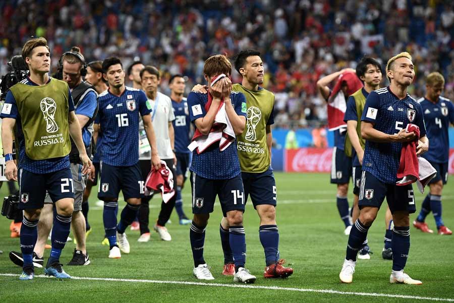 終盤にベルギーの反撃を受け2-3で敗れた日本【写真:Getty Images】