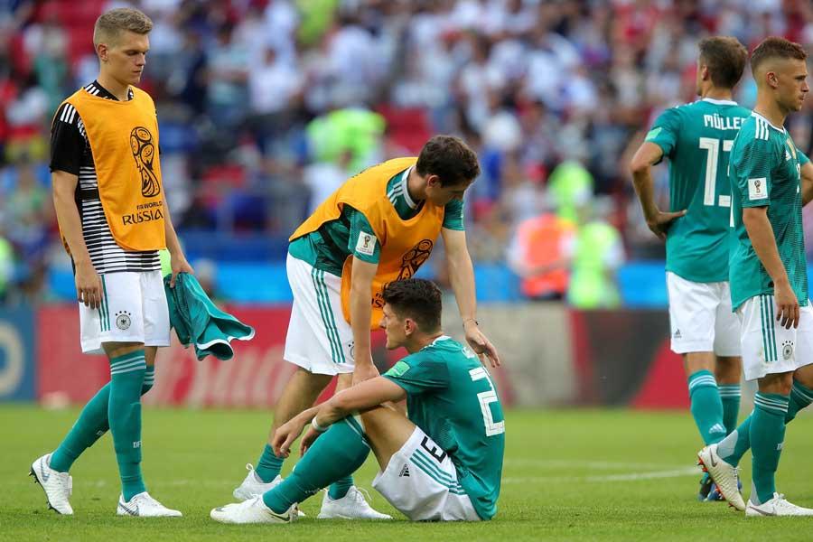 1次リーグ敗退を喫したドイツ代表【写真:Getty Images】