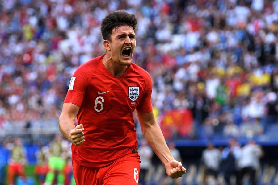 イングランド代表は、1990年大会以来のベスト4進出を果たした【写真:Getty Images】