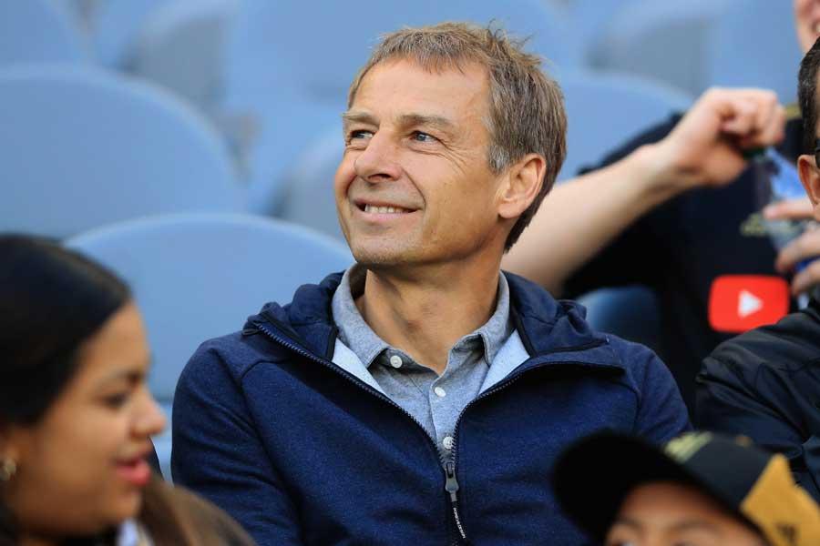 日本代表の次期監督候補に浮上している、元ドイツ代表監督のクリンスマン氏【写真:Getty Images】