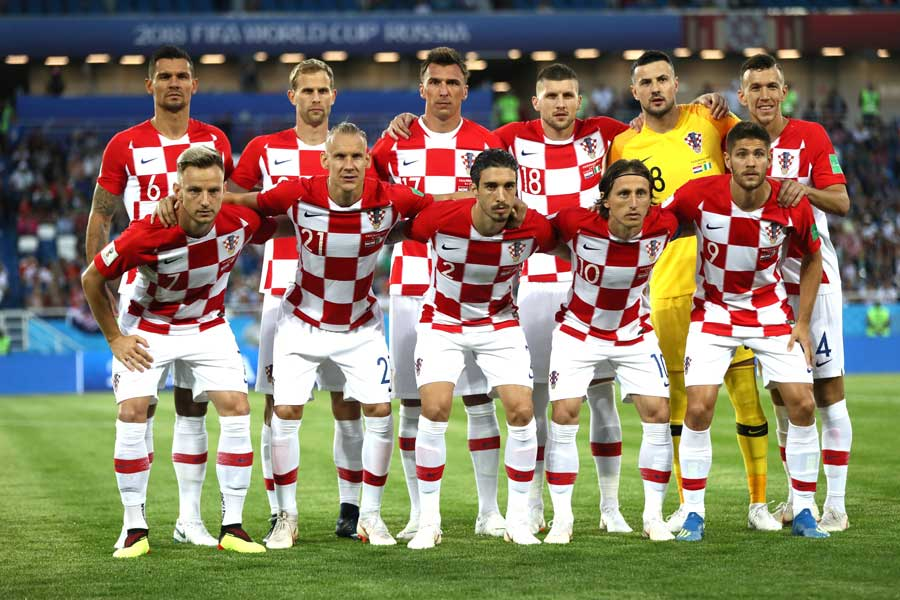 1998年のフランスW杯以来となる準決勝進出を果たしたクロアチア【写真:Getty Images】