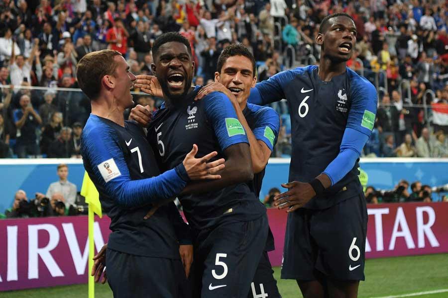 ウムティティの一撃でフランスが1-0の勝利【写真:Getty Images】