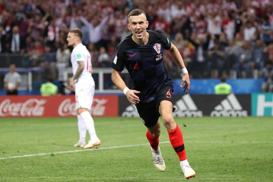 クロアチア代表がMFペリシッチのゴールで追い付き、勝負は延長戦へ【写真:Getty Images】
