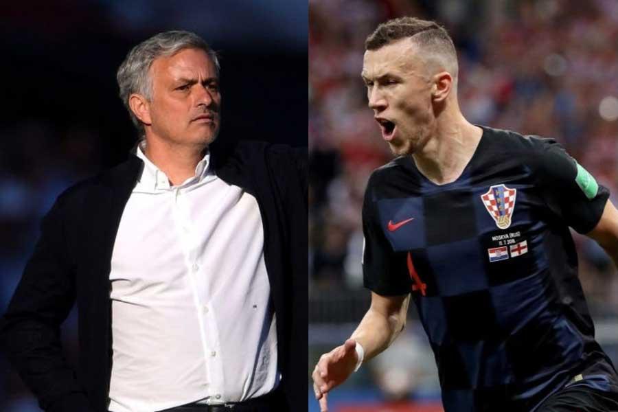 マンチェスター・ユナイテッドのモウリーニョ監督は、クロアチア代表MFペリシッチを絶賛している【写真:Getty Images】
