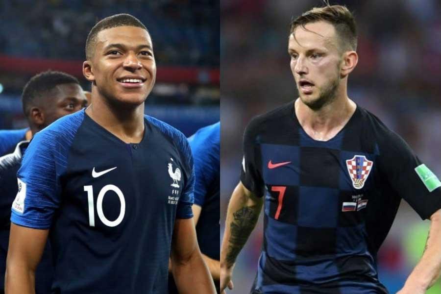 現在PSGで共闘するフランス代表FWムバッペと、バルサで共闘したクロアチア代表MFラキティッチの二人にエールを綴った【写真:Getty Images】