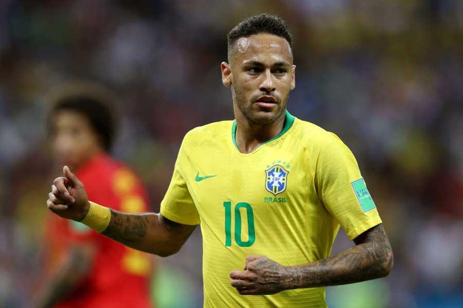 ブラジル代表FWネイマールは、フランス対クロアチア戦に臨む2選手に激励のメッセージを送っている【写真:Getty Images】