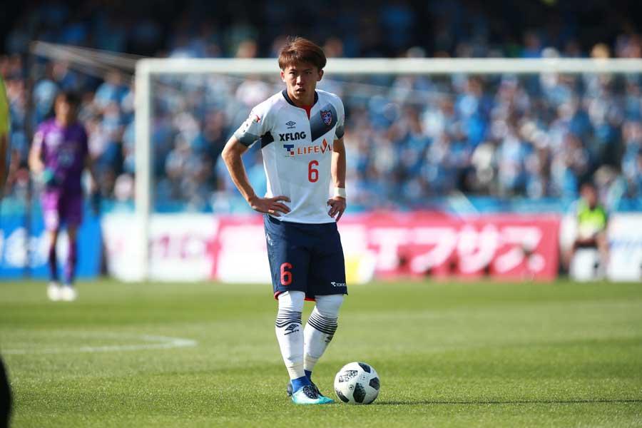 FC東京では副キャプテンを務める太田【写真:荒川祐史】
