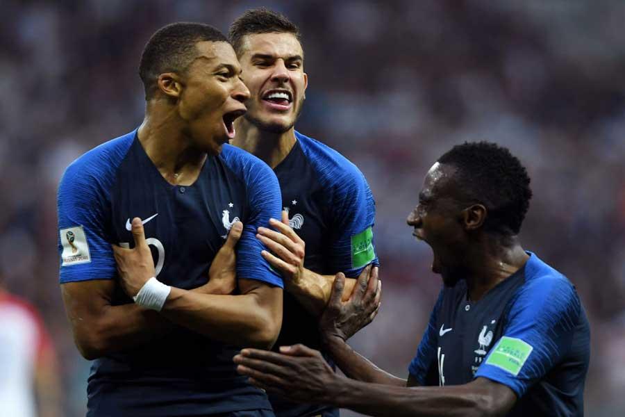 フランス代表が20年ぶり2度目のW杯優勝を果たした【写真:Getty Images】
