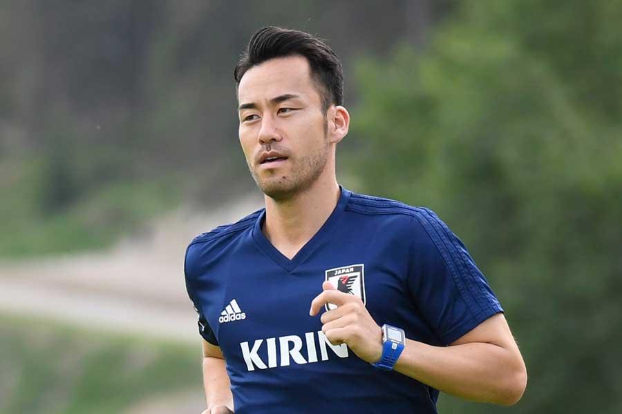 吉田はセットプレー練習で「マークするのが一番嫌」だった選手に植田の名を挙げている【写真:Getty Images】