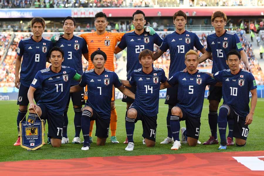 ロシアW杯でアジア勢唯一のグループリーグ突破を果たした日本代表【写真:Getty Images】