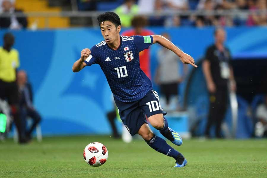 英紙「ガーディアン」が採点をしたデータに、日本代表の香川が全体5位に入る大健闘を見せた【写真:Getty Images】
