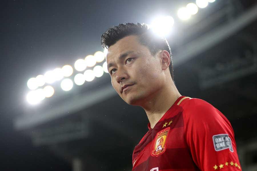 ガオ・リンが貴州智誠戦でスーパーゴールを披露した【写真:Getty Images】