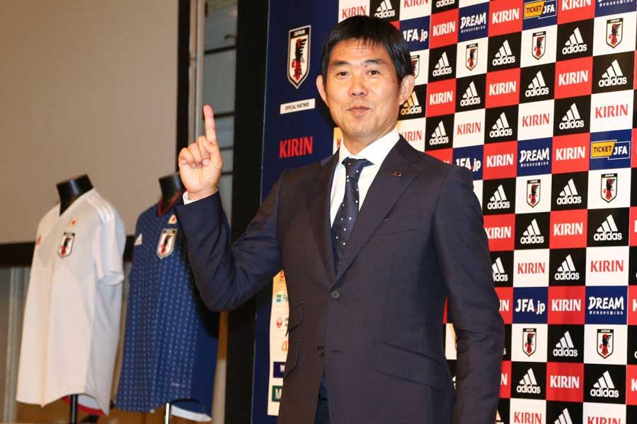日本代表の森保一新監督【写真:Getty Images】