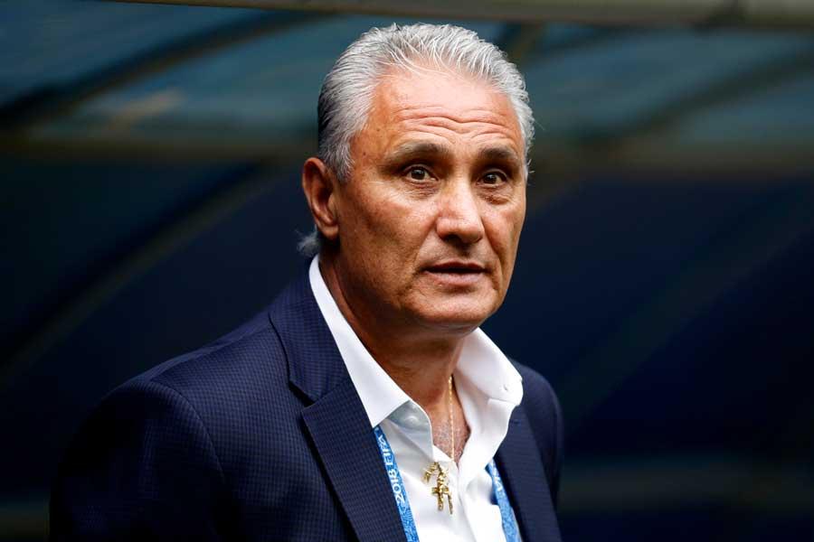ブラジル代表のチッチ監督【写真:Getty Images】