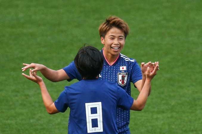 田中が1ゴールも女王アメリカに1-2で後半へ【写真:Getty Images】