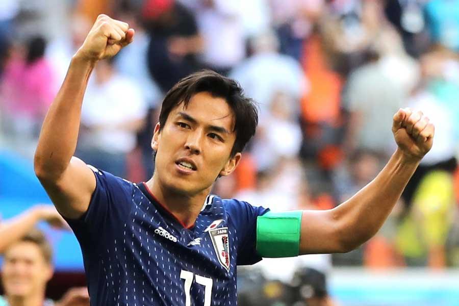 チームリーダーとして日本代表を牽引し続けてきた長谷部【写真:Getty Images】