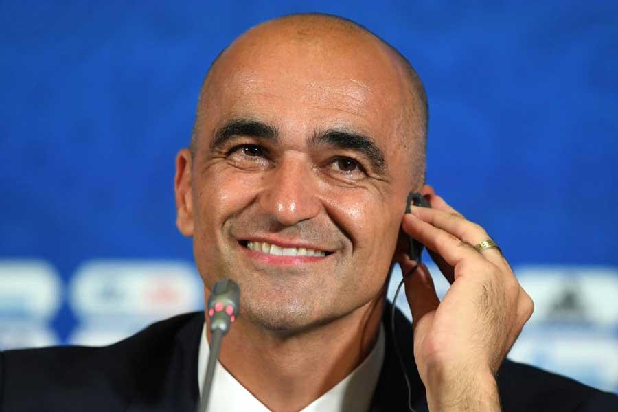 ベルギー代表のマルティネス監督は、試合後の記者会見でベルギーの強さを戦術的な柔軟性があることだと話した【写真:Getty Images】