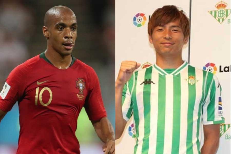 ポルトガル代表10番MFマリオ、乾在籍のベティスへ移籍の可能性が浮上【写真:Getty Images & Football ZONE web】