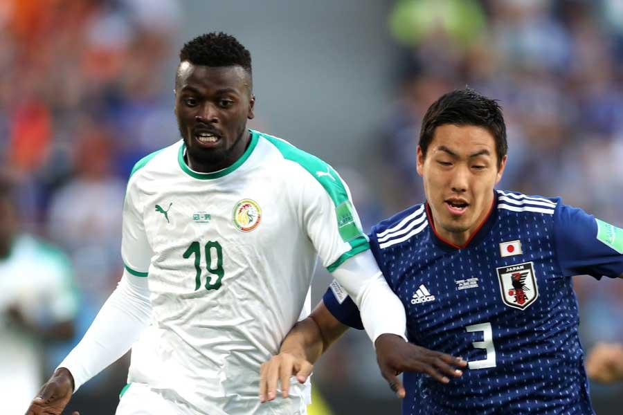 西野ジャパンで3試合先発フル出場を果たした昌子源、海外移籍の可能性が浮上【写真:Getty Images】