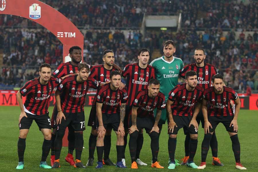 イタリアの名門ACミラン、強化体制を一新しクラブ再建を図ることになりそうだ【写真:Getty Images】