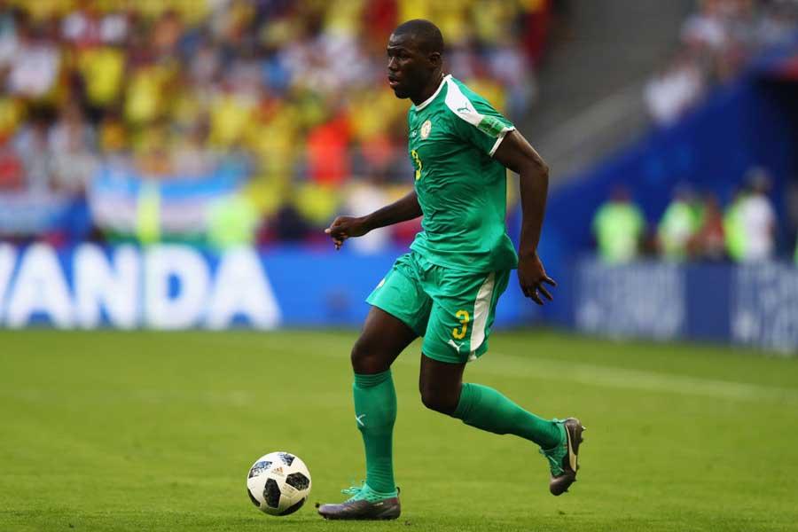 セネガル代表DFカリドゥ・クリバリ【写真:Getty Images】
