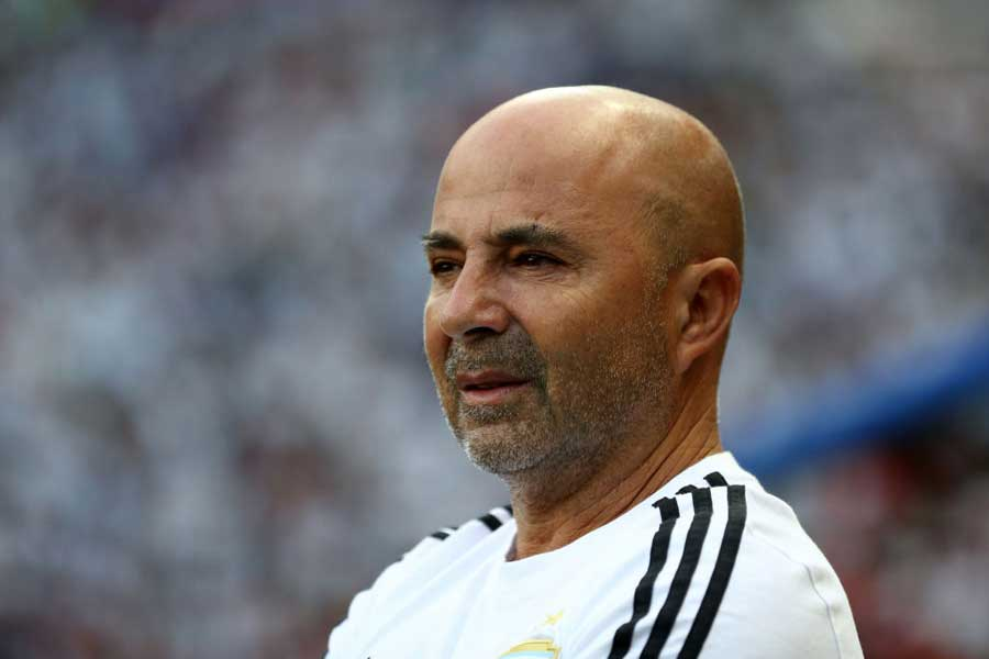 アルゼンチンサッカー協会(AFA)は現地時間15日、サンパオリ監督の退任を正式に発表した【写真:Getty Images】