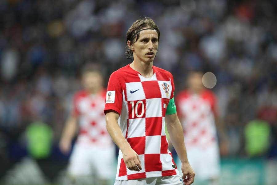 クロアチア代表主将のMFルカ・モドリッチ【写真:Getty Images】
