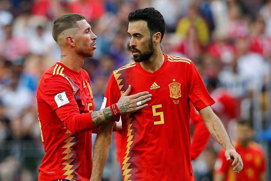 """スペインの""""フェアプレー賞""""にSNSで議論が白熱している【写真:Getty Images】"""
