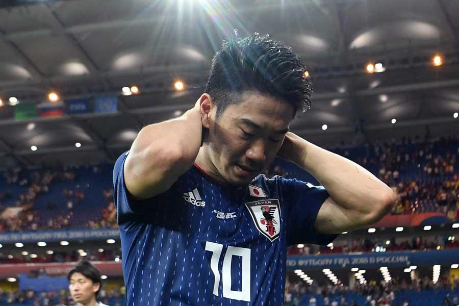 """日本の""""10番""""香川、W杯で躍動する姿はこれで見納めになってしまうのだろうか【写真:Getty Images】"""