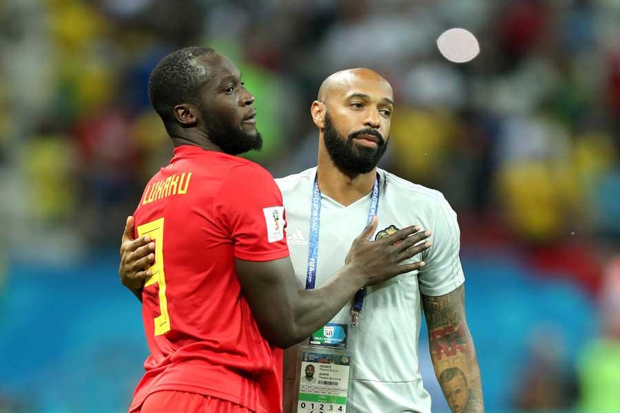 ベルギー代表のアシスタントコーチを務めるアンリ氏【写真:Getty Images】