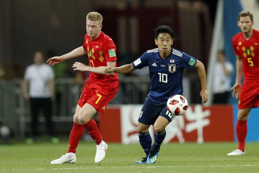米メディア「W杯名場面18選」で日本対ベルギーの名勝負が栄えある1位に選ばれた【写真:Getty Images】