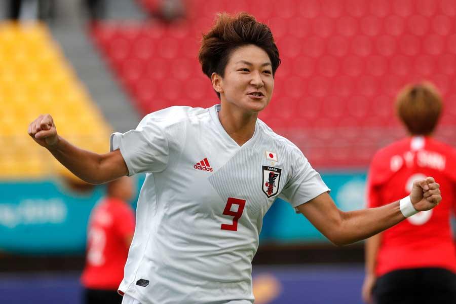 なでしこジャパン、韓国を2-1で破りアジア大会制覇に王手!【写真:AP】