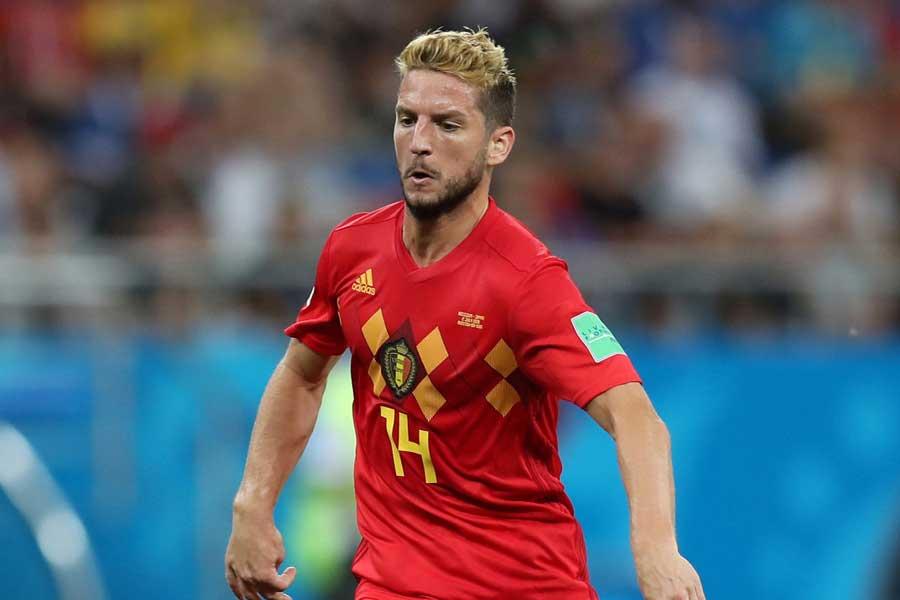 ベルギー代表FWメルテンス【写真:Getty Images】