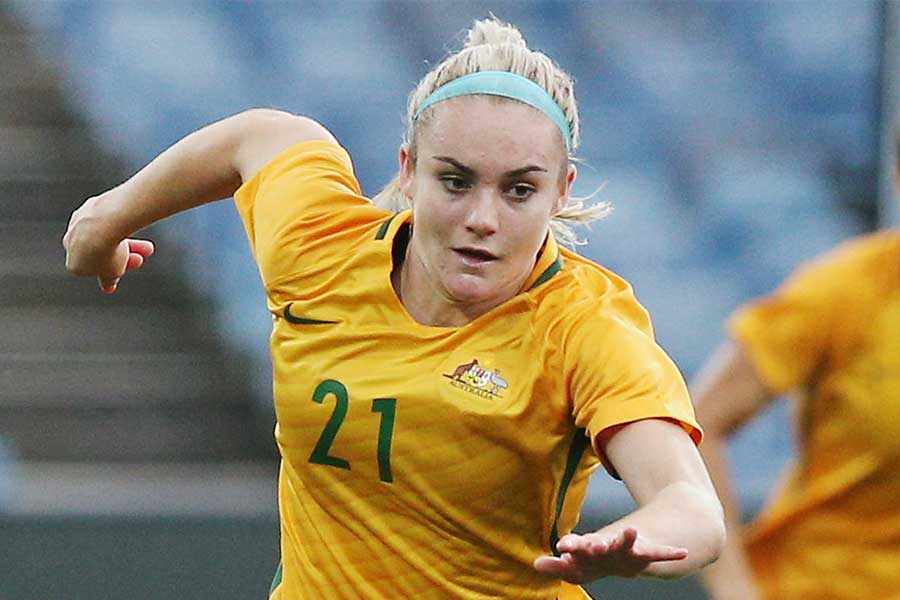 オーストラリア女子代表のDFエリー・カーペンター【写真:Getty Images】