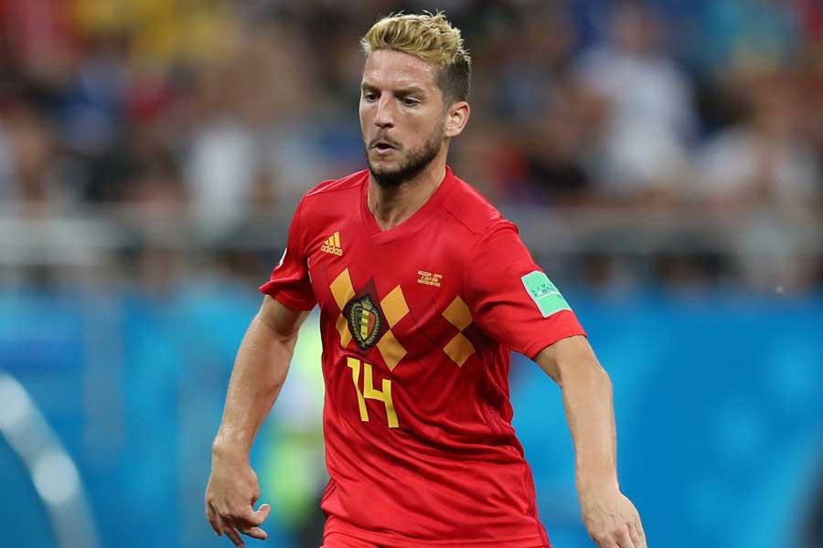 ベルギー代表FWドリース・メルテンス【写真:Getty Images】