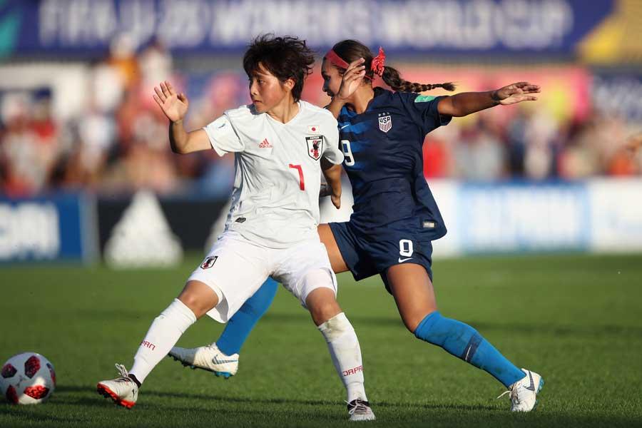 U-20女子日本代表のMF林穂之香【写真:Getty Images】