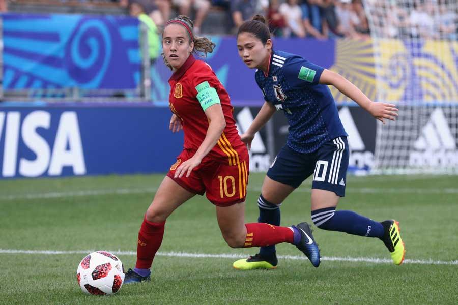 U-20女子日本代表は、スペイン代表に0-1で敗戦【写真:Getty Images】