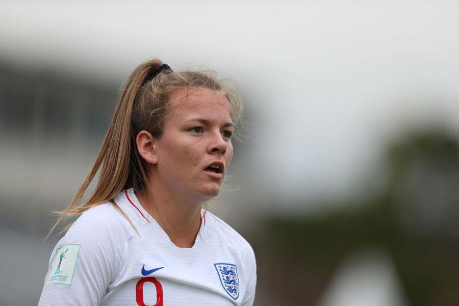 U-20女子イングランド代表FWローレン・ヘンプ【写真:Getty Images】