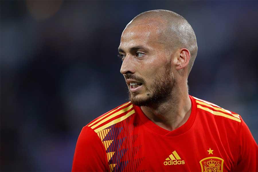 ダビド・シルバがスペイン代表引退を表明した【写真:Getty Images】