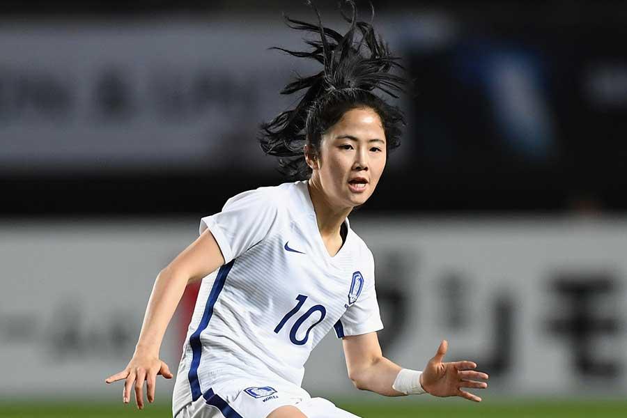 韓国女子代表MFイ・ミナ【写真:Getty Images】