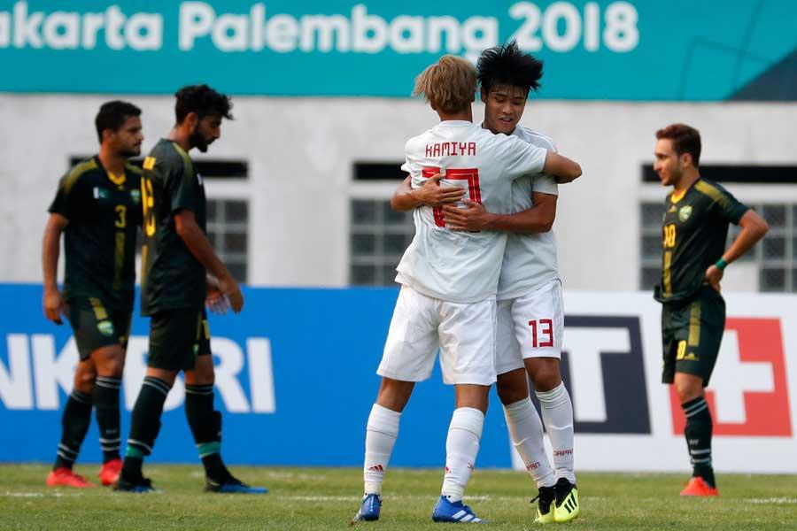 U-21日本代表がアジア大会連勝でGL最終節へ【写真:AP】