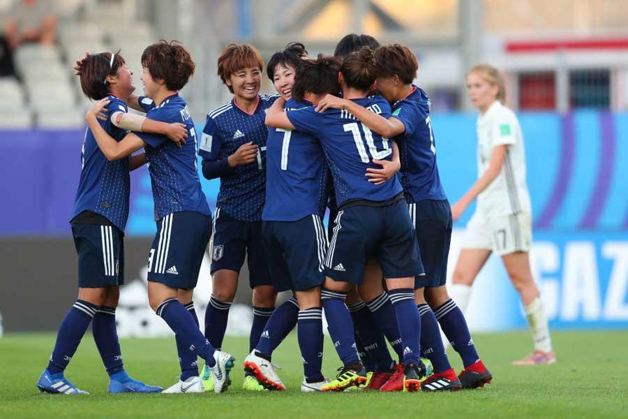 U-20女子日本代表が見せた振る舞いを世界が称賛している【写真:Getty Images】