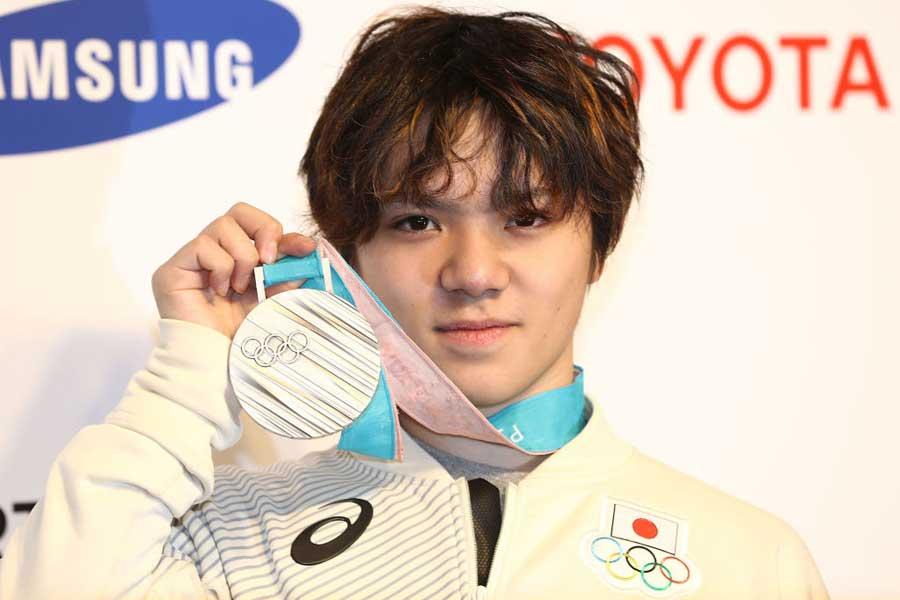 男子フィギュアスケートの宇野昌磨【写真:Getty Images】