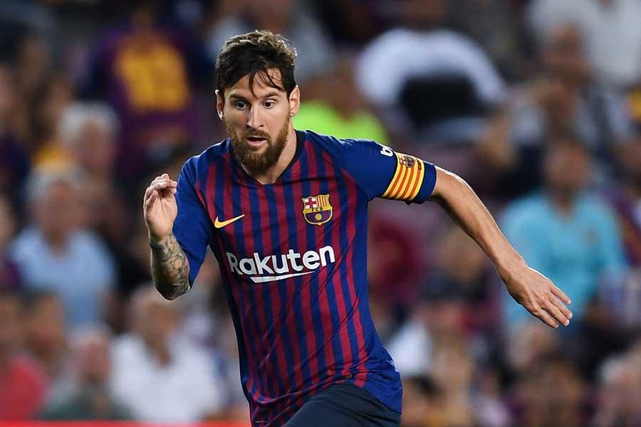 UEFA欧州最優秀選手賞の最終候補が発表されたが、メッシは選外となった【写真:Getty Images】