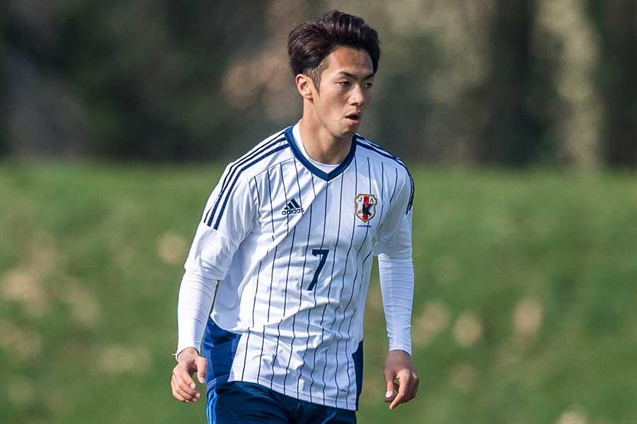 U-21日本代表MF神谷優太【写真:Getty Images】