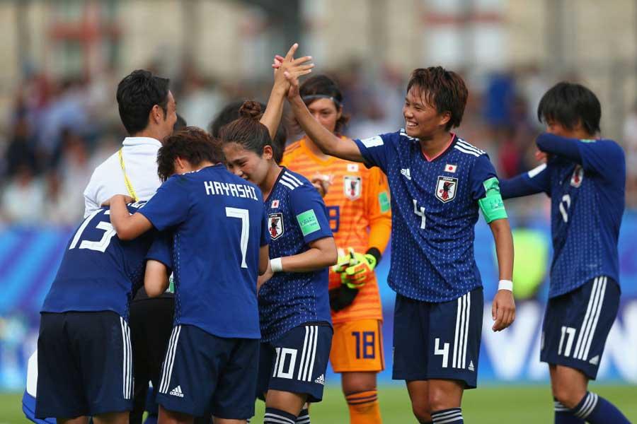 U-20女子W杯、初の決勝進出を決めたU-20女子日本代表【写真:Getty Images】