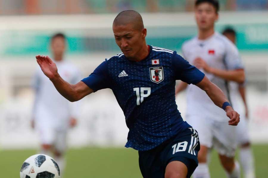 U-21日本代表は、アジア大会・U-23マレーシア代表に1-0で辛くも勝利【写真:AP】